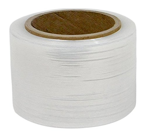 - TRM Manufacturing 44003-120-GAUGE Weatherall Clear LDPE Banding Stretch Film, 3