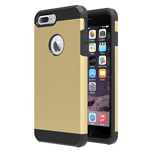Tuff-Luv Étui TPU Armour shell pour Apple Iphone 7 Plus- Or