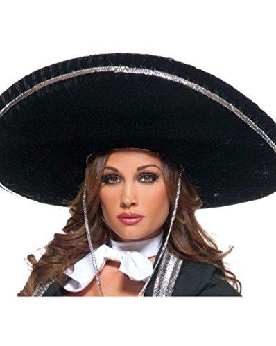 [Mariachi Adult Hat] (Mens Mariachi Halloween Costume)