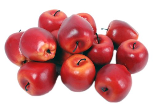 Kiera Grace Decorative Fruit Vase Fillers, 12 Red Apples by Kiera Grace