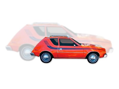 1977 1978 AMC American Motors Gremlin Decals & Stripes Kit - BERRY ()