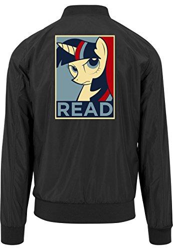 Read Pony Bomberjacke Black Certified Freak