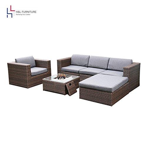 Captiva Designs Zero Gravity Textilene Lounge Folding Chair for Outdoor Patio Use, Light Brown