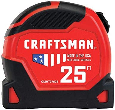CRAFTSMAN Tape Measure, PRO-11, 25-Foot (CMHT37525) – The Super Cheap