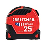 CRAFTSMAN Tape Measure, PRO-11, 25-Foot (CMHT37525)