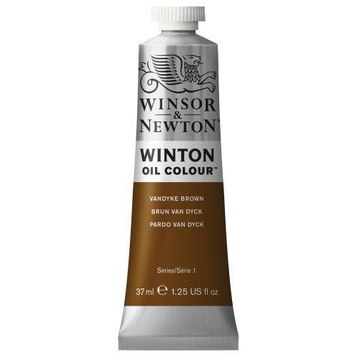 Winton Paint 37ml Tube Vandyke Brown