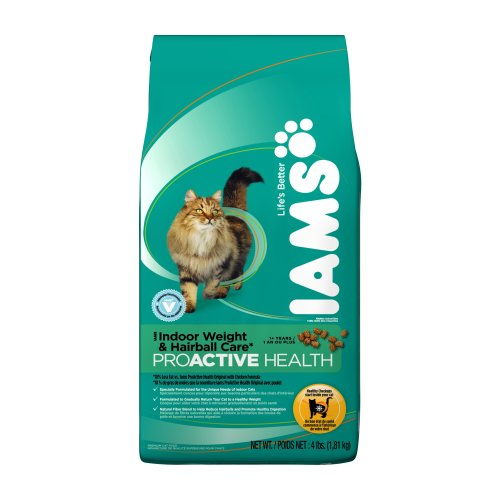 Iams ProActive Health Indoor Weight and Hairball Care Cat Fo