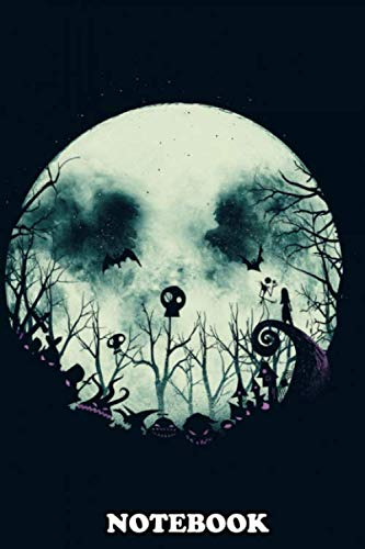 This Is Halloween Mr Jack (Notebook: Nightmare Before Christmas , Journal for Writing, College Ruled Size 6