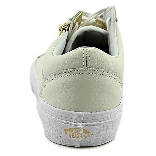 Bestelwagen Old Skool Zip Women Us 5.5 Witte Sneakers