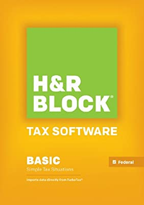 H&R Block Tax Software Basic 2013 Mac [Download] [OLD VERSION]