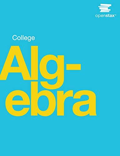 College Algebra (Best College Algebra Textbook)