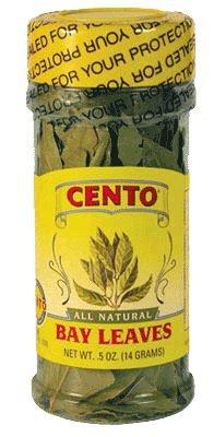 Cento - All Natural Whole Bay Leaves, (2)- 0.5 oz. Btls.