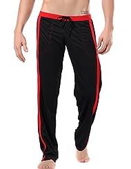 Taiycyxgan Men's Elastic Waist Casual Sport Pants with Pockets