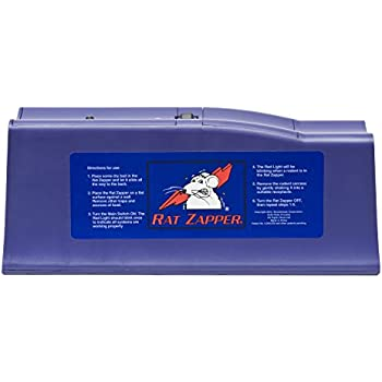 Rat Zapper Classic Rat Trap - No touch, No see Disposal RZC001