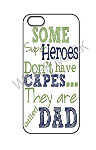 015 SPECIALLY DESIGNED FATHER'S DAY QUOTATION, A SPECIAL GIFT PRINTED ON HARD SHELL CASE FOR i phone 5 by ruishername