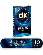 Okey Okey Klasik 10'Lu Prezervatif 1 Paket