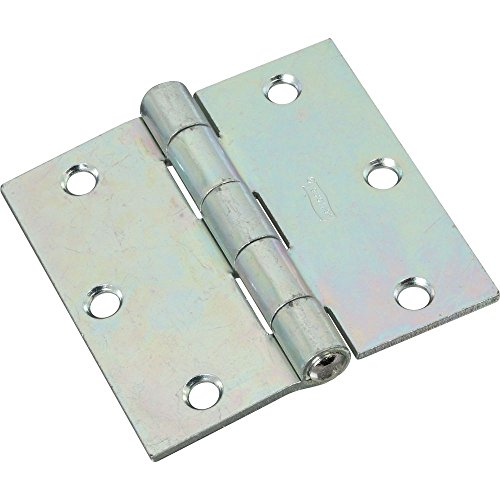National Hardware N261-651 V505 Non-Removable Pin Hinges in Zinc plated, 2 (Zinc Pin Hinge)