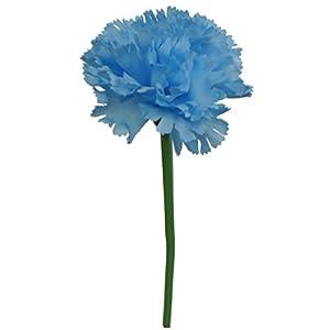 Lily Garden 60 Stems Artificial Carnation Flower Silk Bouquet 2