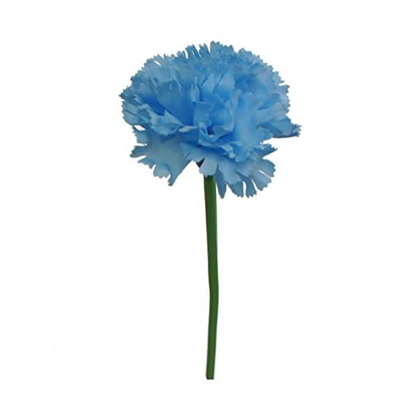 Lily-Garden-60-Stems-Artificial-Carnation-Flower-Silk-Bouquet
