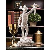 Design Toscano Perseus Beheading Medusa Greek Gods Statue, 12 Inch, White