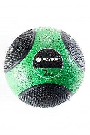 Balón Medicinal 2 kg Original pure2i mprove: Amazon.es: Deportes y ...