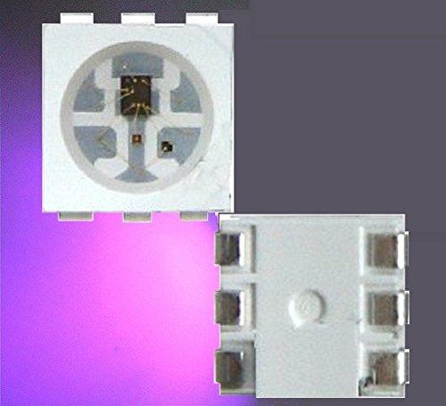 50/X UV ultravioletto LED SMD 5050/P 395/NM