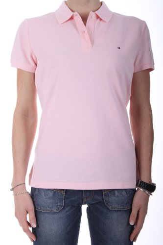 b2aab584 Womens Large Pink Tommy Hilfiger Polo, Tommy Hilfiger Pink Womens ...