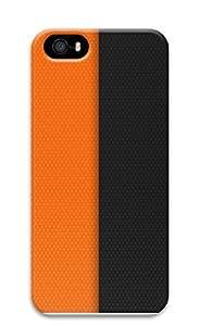 Case For Sam Sung Galaxy S5 Mini Cover Half Orange Black 3D Custom Case For Sam Sung Galaxy S5 Mini Cover