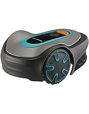 GARDENA SILENO mini-robotmaaier: programmeerbaar met app, snijdt oppervlakken tot 250 m², geluidsarm, past de snijtijden aan de grasgroei (15201-34), ES/IT-versie