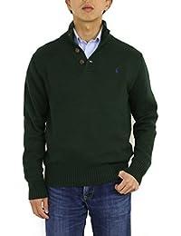 Men's 3 Button Mock Neck Sweater