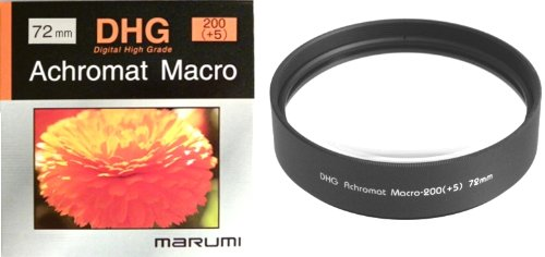 Marumi DHG 72mm 72 Macro +5 200 Achromat Achromatic Close up Lens / Filter Japan by Marumi