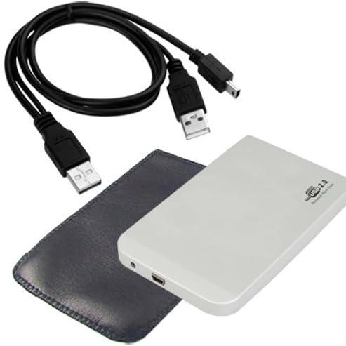 SODIAL(R) USB 2.0 Caja Externa p Disco Duro Aluminio IDE 2.5 Inch ...