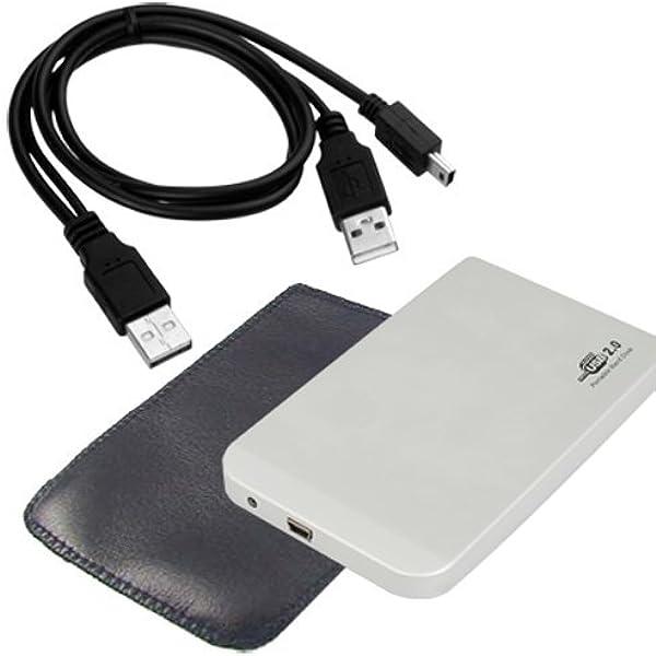 SODIAL(R) USB 2.0 Caja Externa p Disco Duro Aluminio IDE 2.5 Inch: Amazon.es: Electrónica