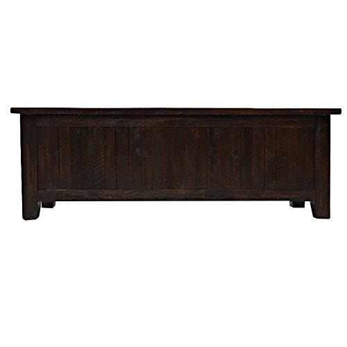 Jofran: 707-99, Kona Grove, Blanket Chest, 55''W X 18''D X 19''H, Deep Chocolate Finish, (Set of 1) by Jofran