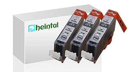 Valle del Rin - 3 Premium XL Cartuchos de impresora con chip CLI ...