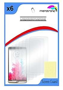 Protector de pantalla LG G3D855Protector de pantalla ScreenGuard (6x), transparentes