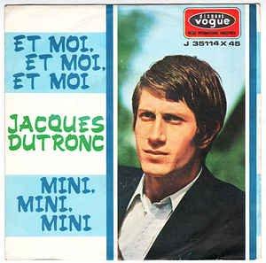 Jacques Dutronc Vinyl 7 Et Moi Et Moi Et Moi Mini Mini Mini