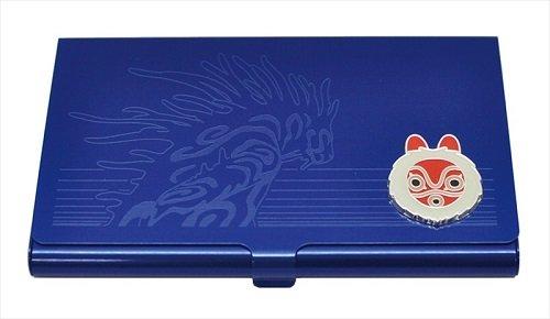 [Ghibli Princess Mononoke metal card case navy Didarabotchi From Japan New] (Dance Costumes Seattle)