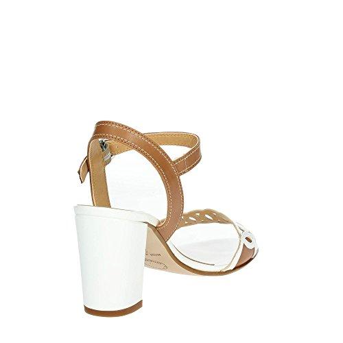 ve Ibb356 002 Cinzia Bianco Donna Soft cuoio Sandalo qE8Rfw