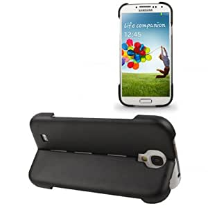 Transform Shell Plastic & Silicon Double-layer Protection Case for Samsung Galaxy S IV / i9500 (Black)