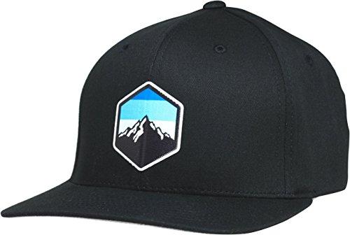 - Lindo Flexfit Pro Style Hat - Mountain Sky (Black-s/m)