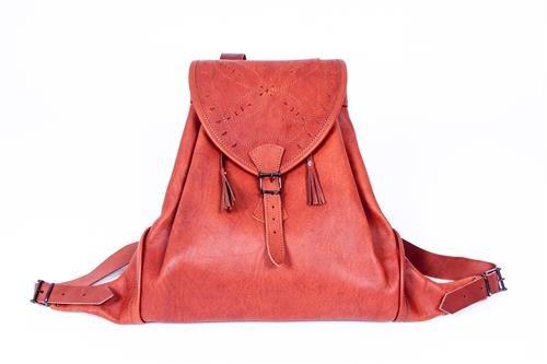 Zurron Leder Ziegenleder eine Tasche für Kind, Leder von hoher Qualität