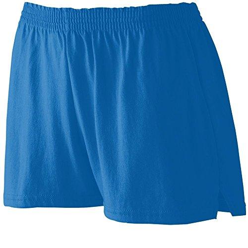 Augusta Sportswear WOMEN'S JUNIOR FIT JERSEY SHORT XS Royal