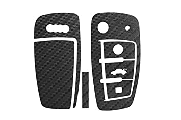 /Noir Or Argent Seitronic carbone Cl/é Cl/é Key/ /D/écor/ /Carbon Colle Sur/ Blanc