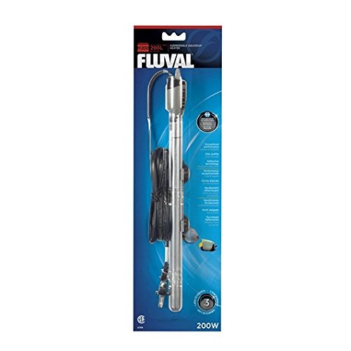 Fluval M Submersible Heater, 200-watt