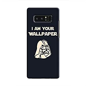 Cover It Up - Darth Wallpaper Galaxy Note 8 Hard Case