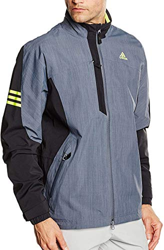 adidas Climaproof Gore-Tex Two Layer Mens Waterproof Golf Jacket - Grey-S