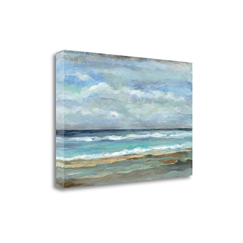 """Seashore"" By Silvia Vassileva, Fine Art Giclee Print on Gallery Wrap Canvas, Ready to Hang from Tangletown Fine Art"