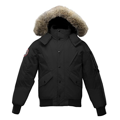 Triple F.A.T. Goose Mens Scotia Goose Down Jacket With Real Coyote Fur (X-Large, - Sale Face Fat Mens