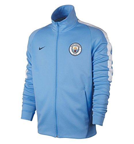 Field Mens Jacket Nike (Nike mens MCFC M NSW JKT FRAN AUT 868926-488_L - FIELD BLUE/WHITE/MIDNIGHT NAVY)